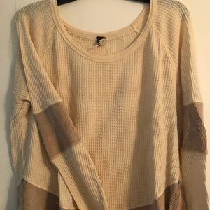 Free People - We The Free Oatmeal Henley